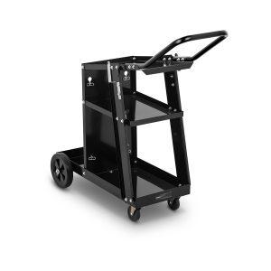 Hegesztőkocsi – 3 polc tartóval | 80 kg